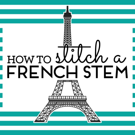 How to stitch a French seam