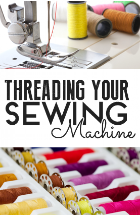 Threading your sewing machine