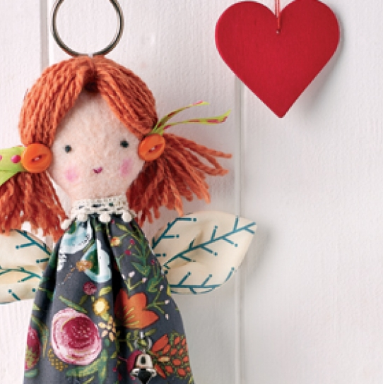Free sewing patterns sew magazine for Angel tree decoration template