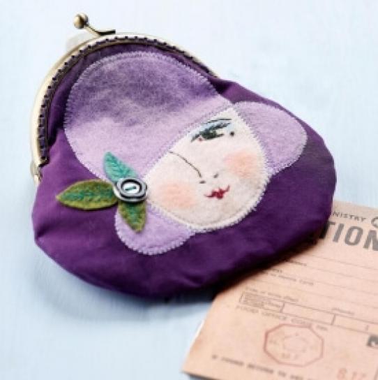 Art deco purse - Free sewing patterns - Sew Magazine