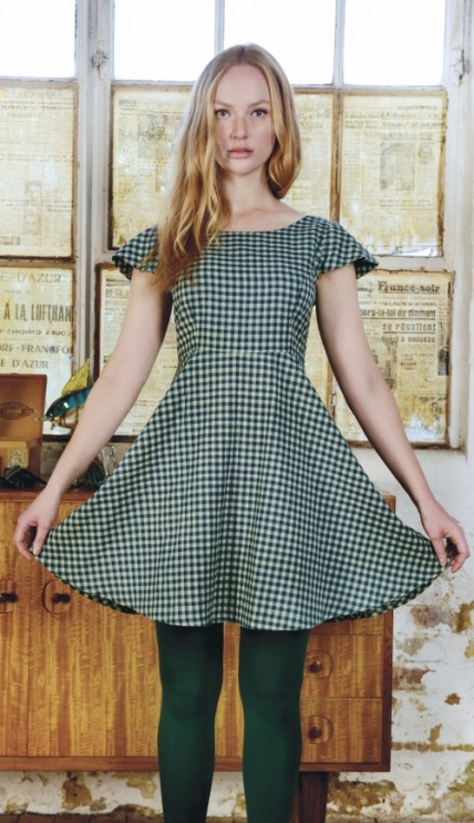 Sewing Bee Betty Dress - Free sewing patterns - Sew Magazine