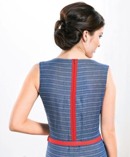 Breton Dress Waist Synching Belt and Casual Tunics - Free sewing ...