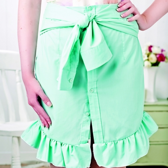 Upcycle a Shirt into a Sassy Skirt