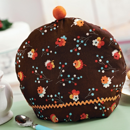 Christmas Pudding Tea And Floral Egg Cosy Free Sewing Patterns