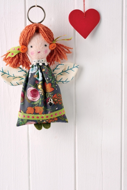 Christmas Angel - Free sewing patterns