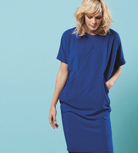 Sewing Bee Draped Dress