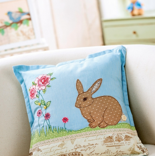 Easter Applique Cushion and Picture