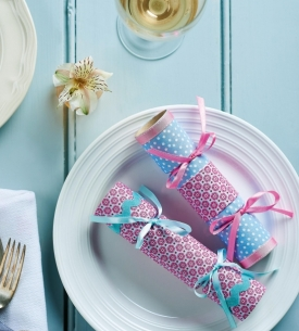 Fabric Christmas Crackers