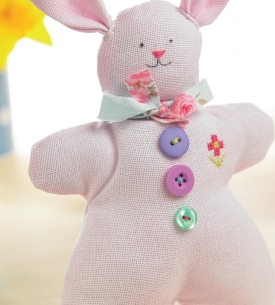 Evenweave Easter Bunny
