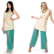 Fitted Women's Tunic & Trousers