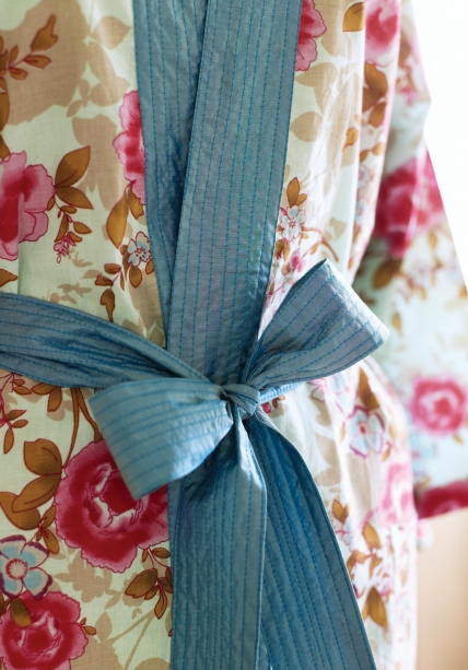 Floral Oriental Kimono Robe Free Sewing Patterns Sew Magazine