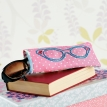 Lunchtime Make: Embroidered Glasses Case