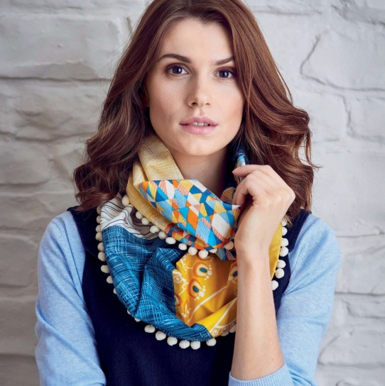 Quick Sew Infinity Scarf Free Sewing Patterns Sew Magazine