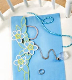 Cutwork Jewellery Envelope
