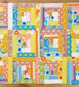 Patchwork Collectable Series: Log Cabin Block