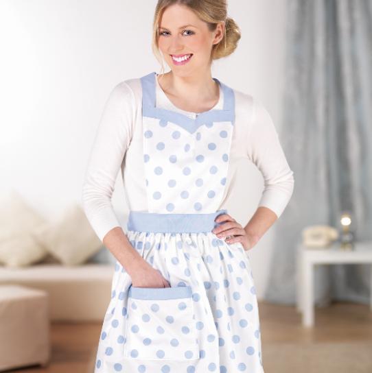 Vintage apron - Free sewing patterns - Sew Magazine