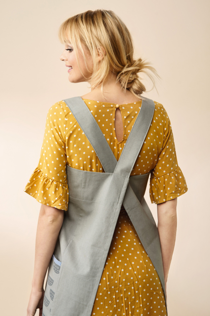 Cross-Back Pinafore