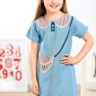 Young Girl's Nautical Applique Dress
