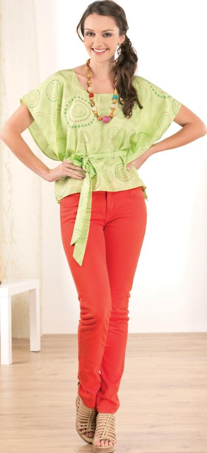 No Pattern Summer Blouses - Free sewing patterns - Sew Magazine
