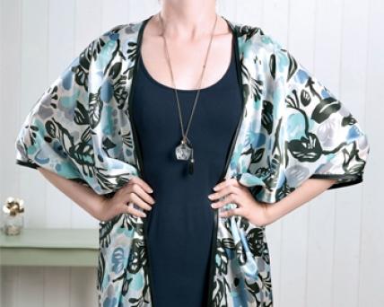 6957eb906a No-pattern kimono - Free sewing patterns - Sew Magazine