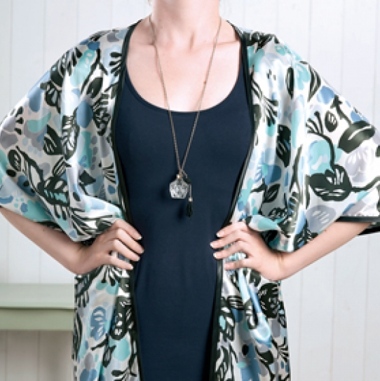 No-pattern kimono - Free sewing patterns - Sew Magazine