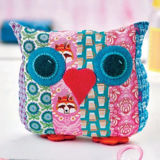 Otis The Owl Free Sewing Patterns Sew Magazine