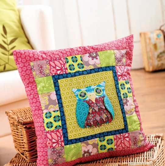Patchwork Owls - Free sewing patterns - Sew Magazine