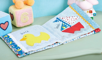Baby Picture Cloth Book Free Sewing Patterns Sew Magazine