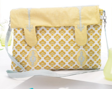 Quilted Laptop Bag Free Sewing Patterns Sew Magazine