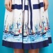 No-pattern regatta skirt