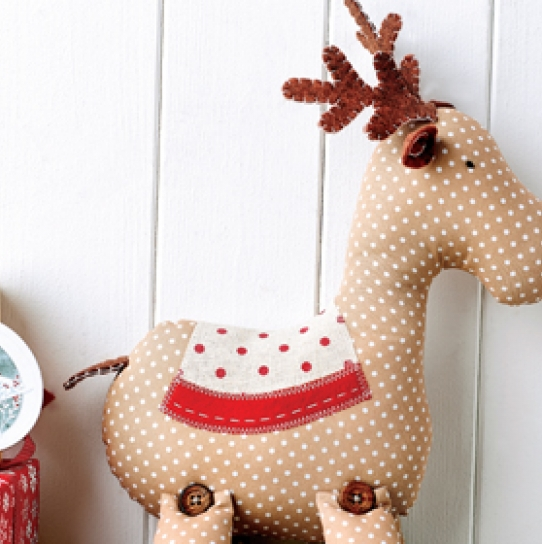 Roger Reindeer Make A Festive Toy Free Sewing Patterns