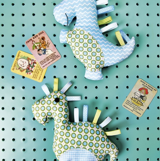 dino toys - Free sewing patterns - Sew Magazine