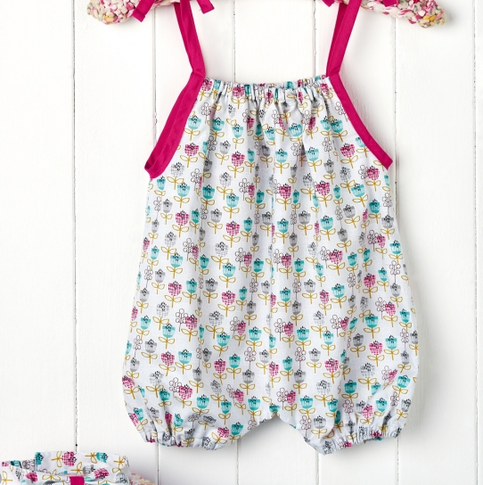Romper Suit - Free sewing patterns - Sew Magazine