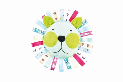 Ribbon Pincushion and Tag Toy