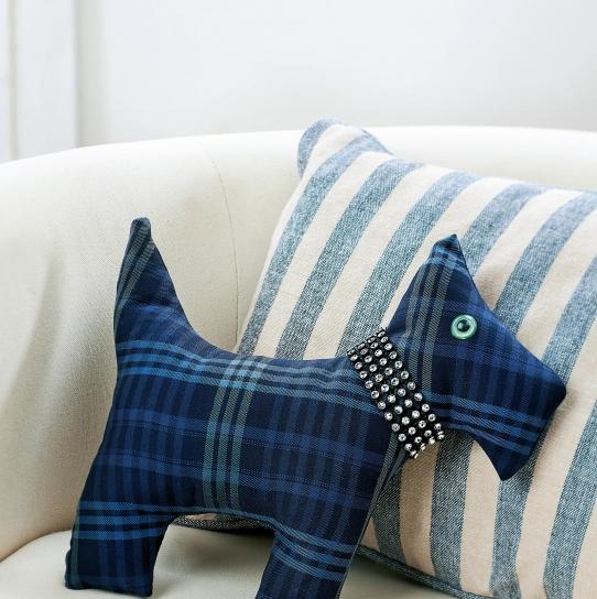 Traditional Tartan Scottie Dog Free Sewing Patterns Sew Magazine