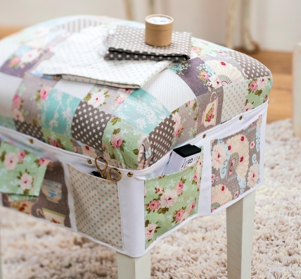 Upcycled Sewing Caddy Free Sewing Patterns Sew Magazine