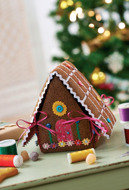 Gingerbread House Sewing Box Free Sewing Patterns Sew