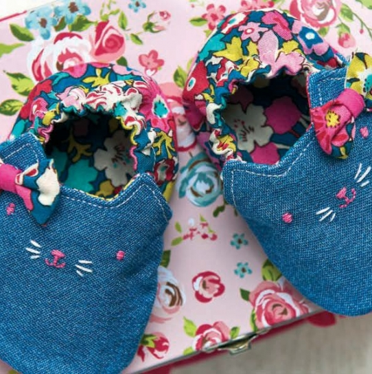 Kitty Cat Baby Shoes