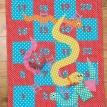 Spotty Snakes And Ladders Playmat Free Sewing Patterns