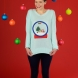 Snow Globe Appliqué Jumper