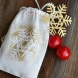 Cricut Snowflake Gift Bag