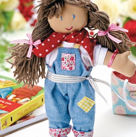 Boho Rag Doll Free Sewing Patterns Sew Magazine
