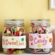 Embroidered Sweetie Jar Labels