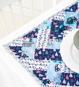 Christmas Patchwork Placemats