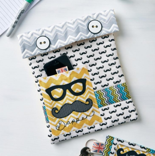 Tablet case and keyring