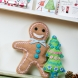 Upcycled Felt Gingerbread Man