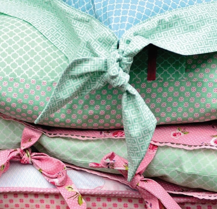 Pastel Prints Vintage Cushions Free Sewing Patterns