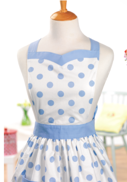 Vintage apron - Free sewing patterns - Sew Magazine
