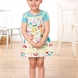 Girl's patch pocket summer dress