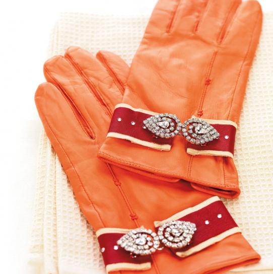 how to make a fee fee with a glove